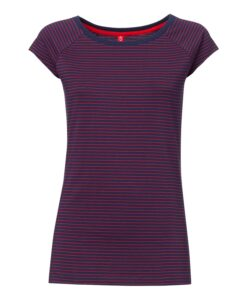 Pin striped T-shirt