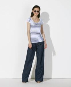 Damen-T-Shirt-Gestreift-White-Blue-Bio-und-Fair-27_2